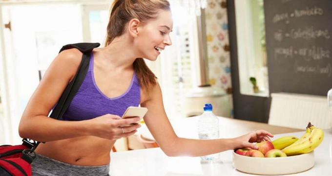 Saiba como se alimentar antes e depois dos exercícios