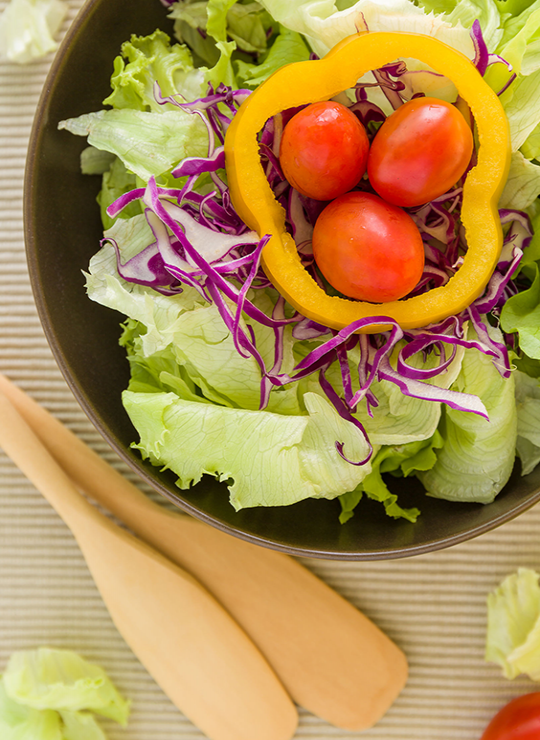 Aprenda a comer salada: quanto mais colorida, melhor